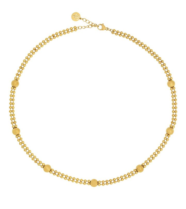 Sonic Necklace Multi Gold