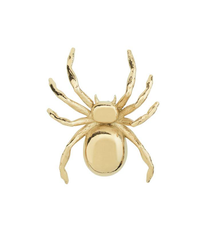 Spider Brosch Gold