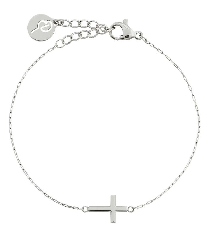Spirit Cross Bracelet Steel