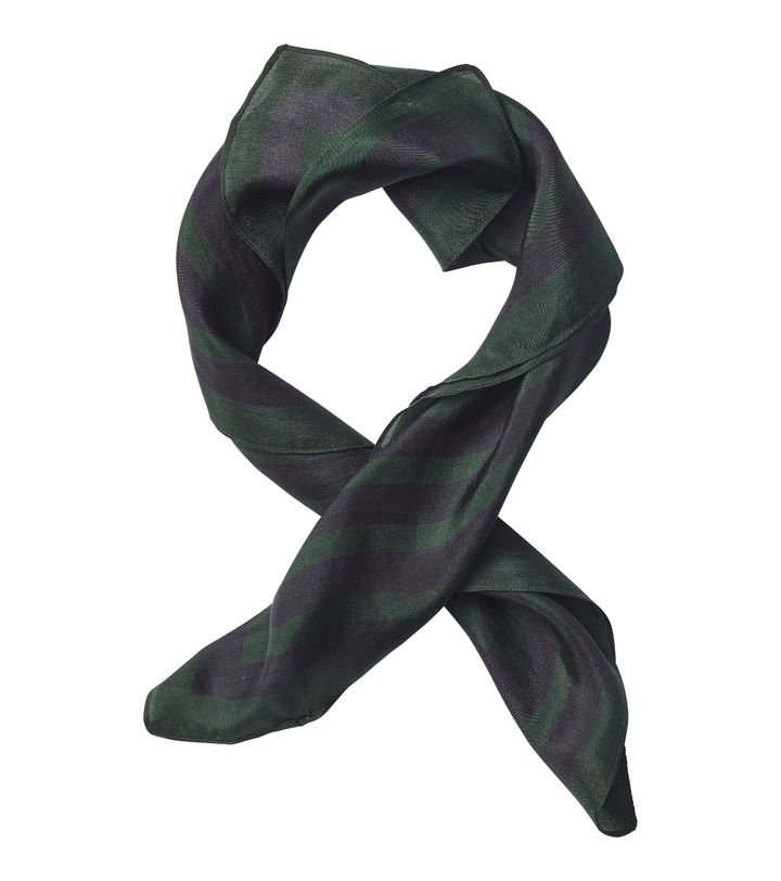 Square Silk Scarf Forest