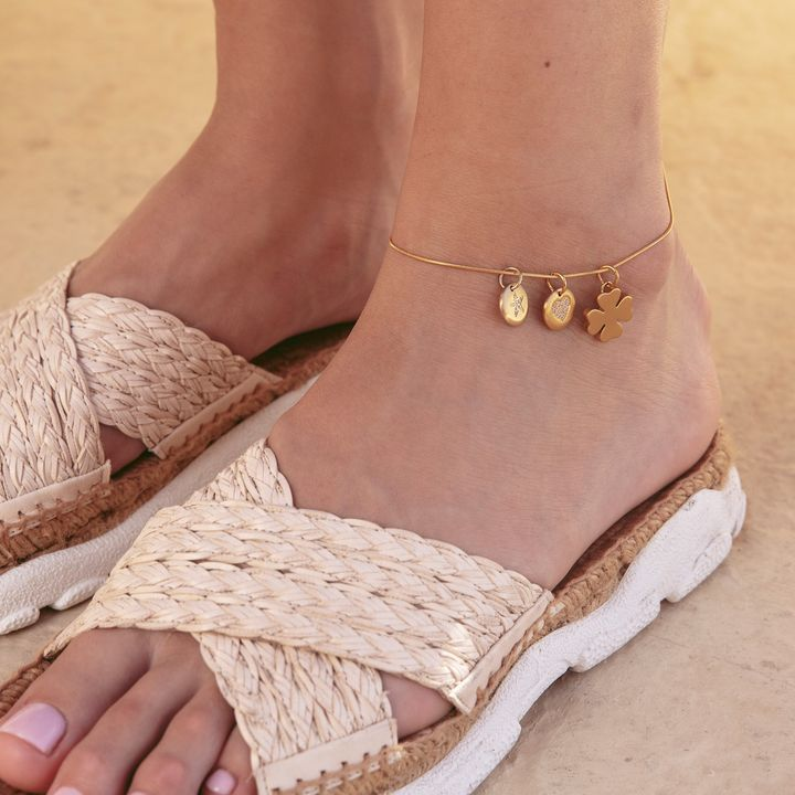 Charmentity Snake Ankle Gold