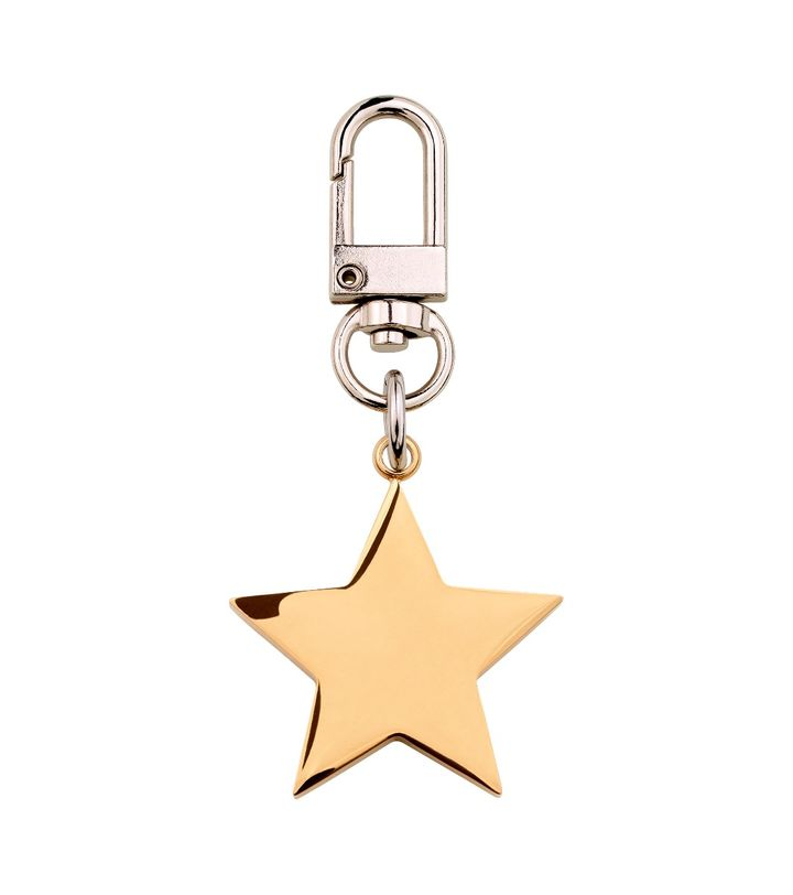 Star Bag Charm Gold