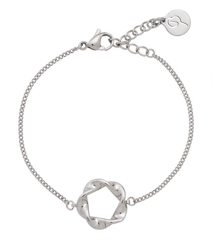 Swirl Bracelet Steel