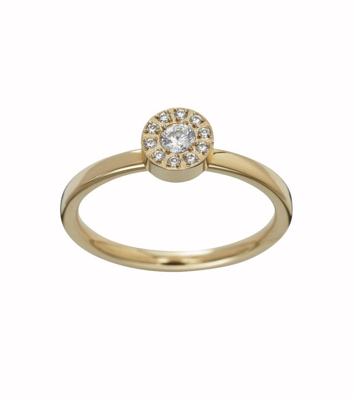 Thassos Ring Mini Gold