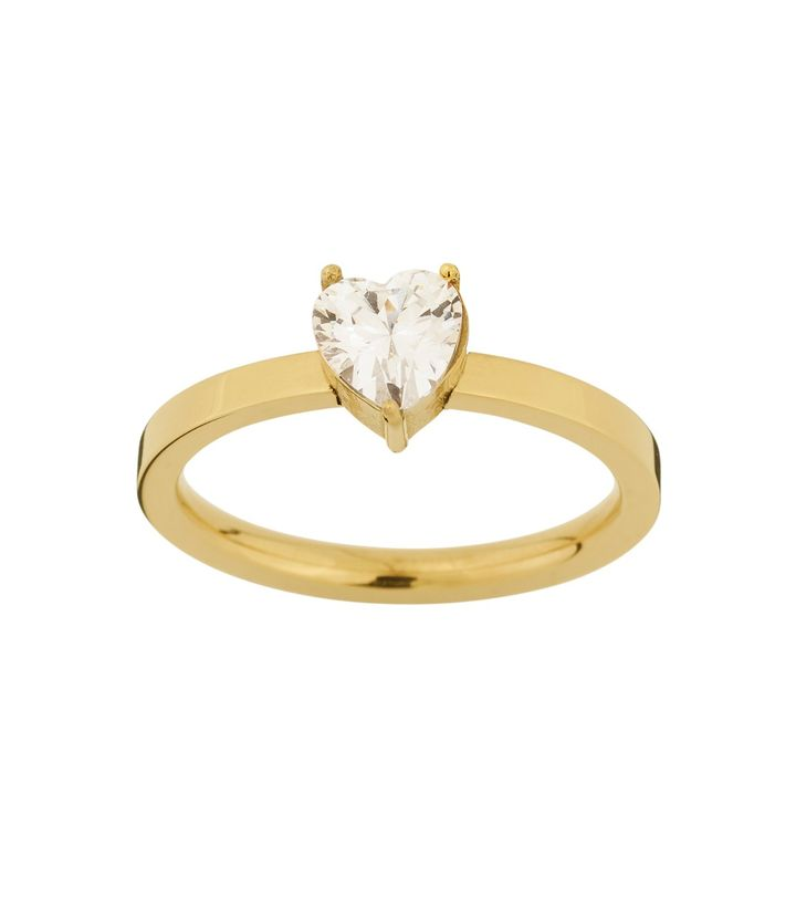 Timeless Heart Ring Gold