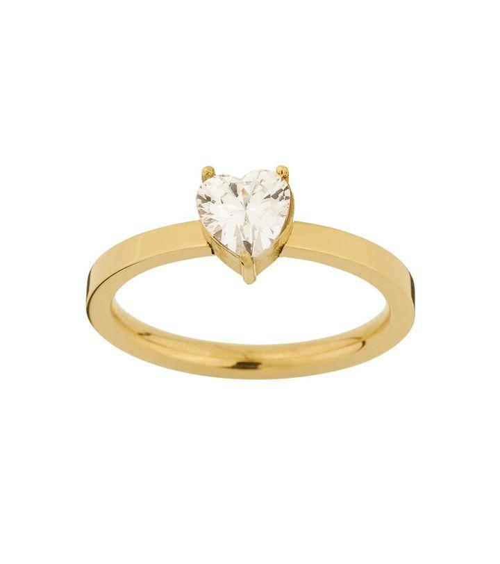 Timeless Heart Ring Gold
