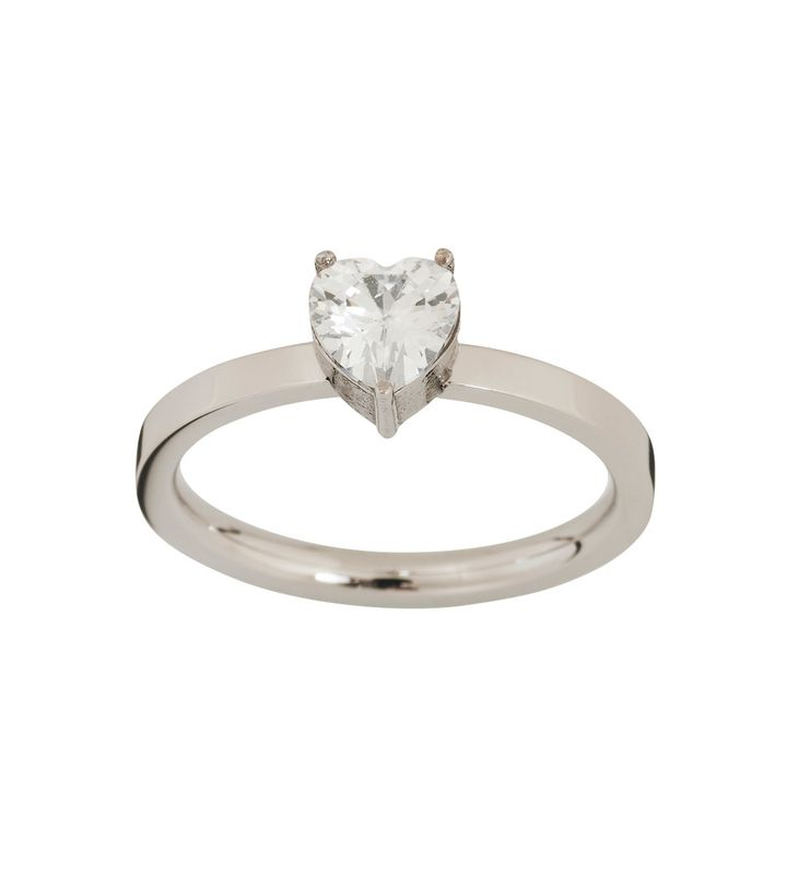 Timeless Heart Ring Steel