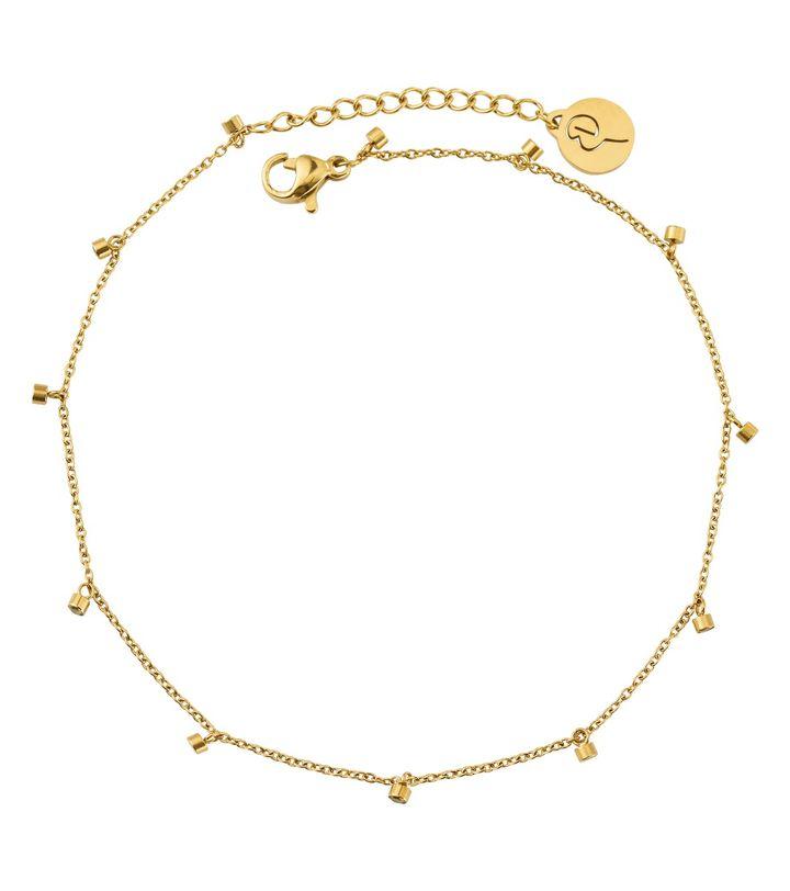 Tina Anklet Gold