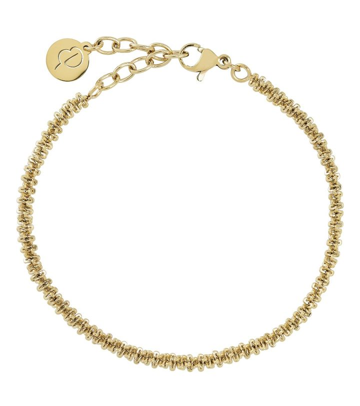 Tinsel Bracelet Gold