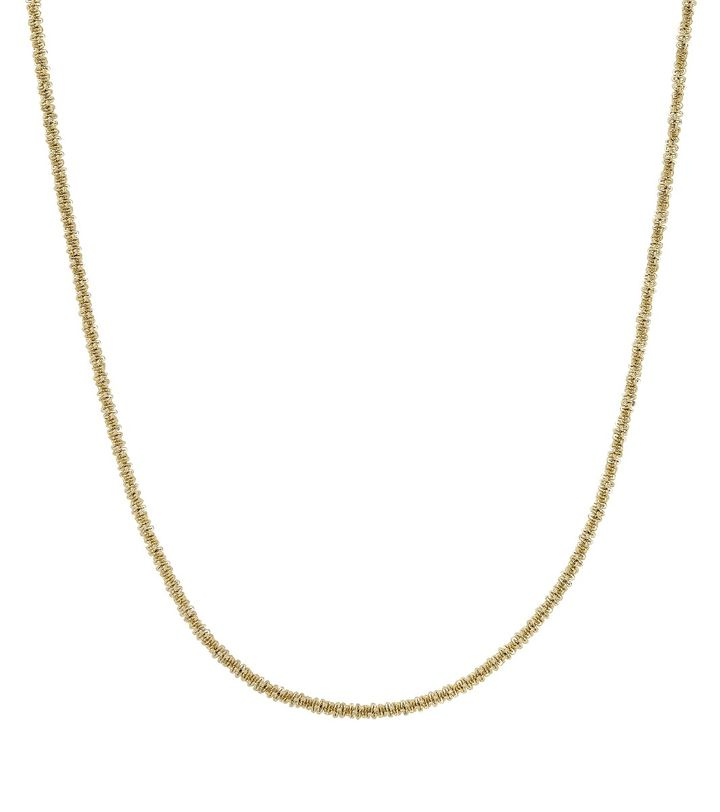 Tinsel Necklace 42 cm Gold