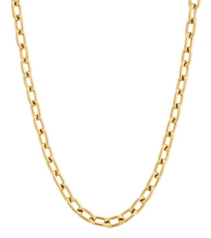 Trellis Chain Necklace Gold