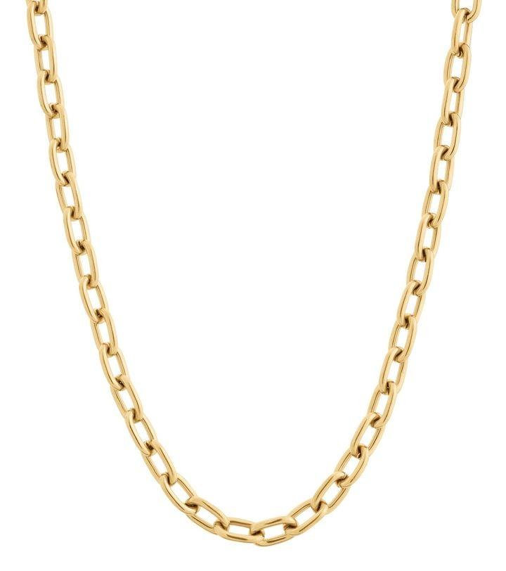 Trellis Chain Necklace Gold