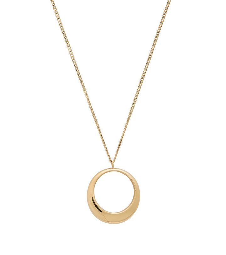 Trois Necklace L Gold
