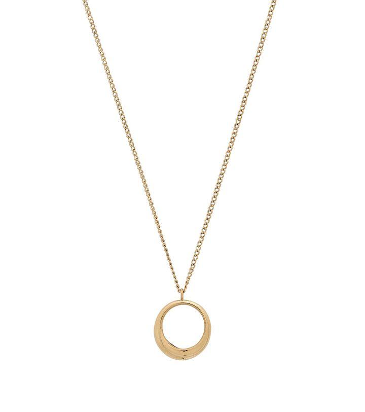 Trois Necklace S Gold