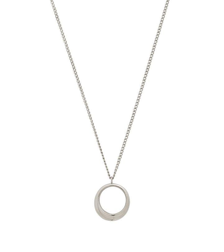 Trois Necklace S Steel
