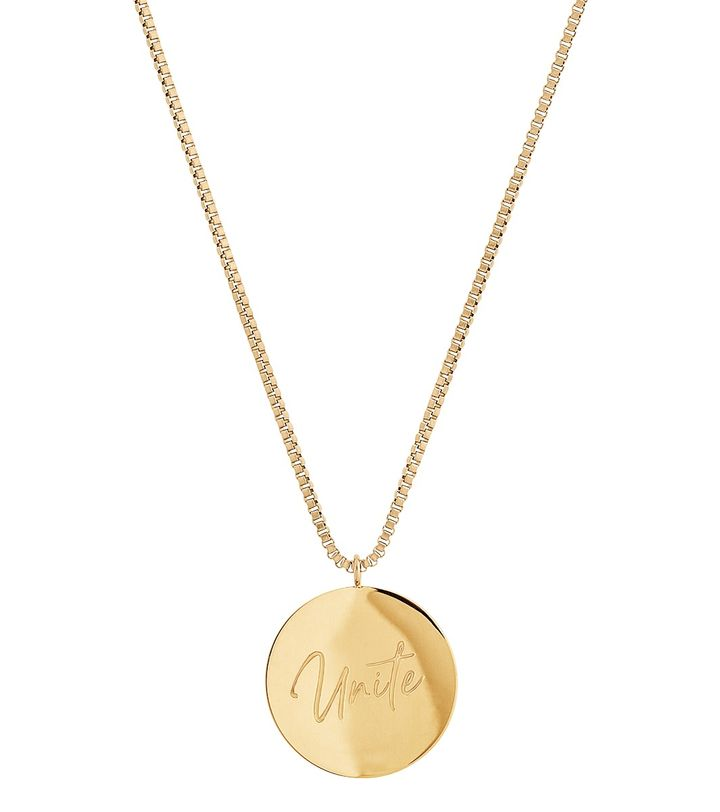 Unite Necklace Gold
