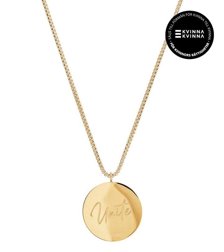 Unite Necklace Gold