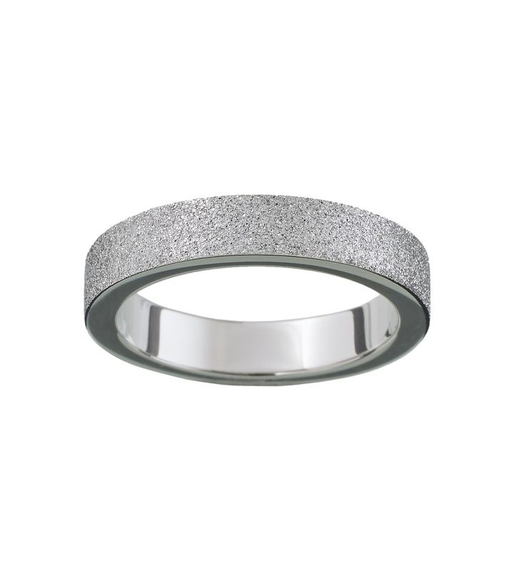 Valerie Ring Sparkle Steel