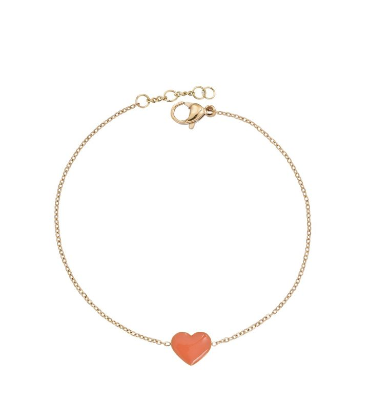 Venice Anklet Heart Gold