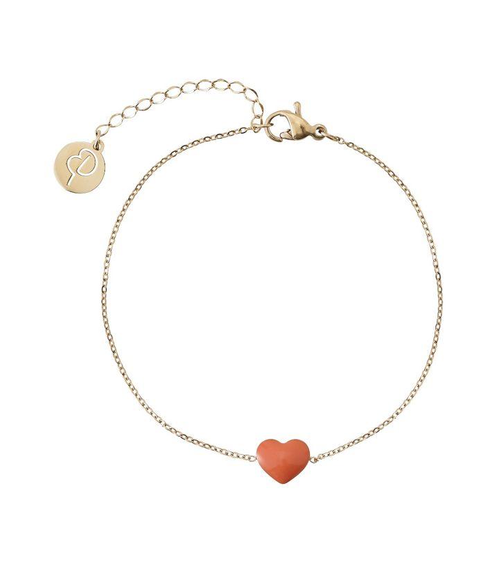Venice Bracelet Heart Gold