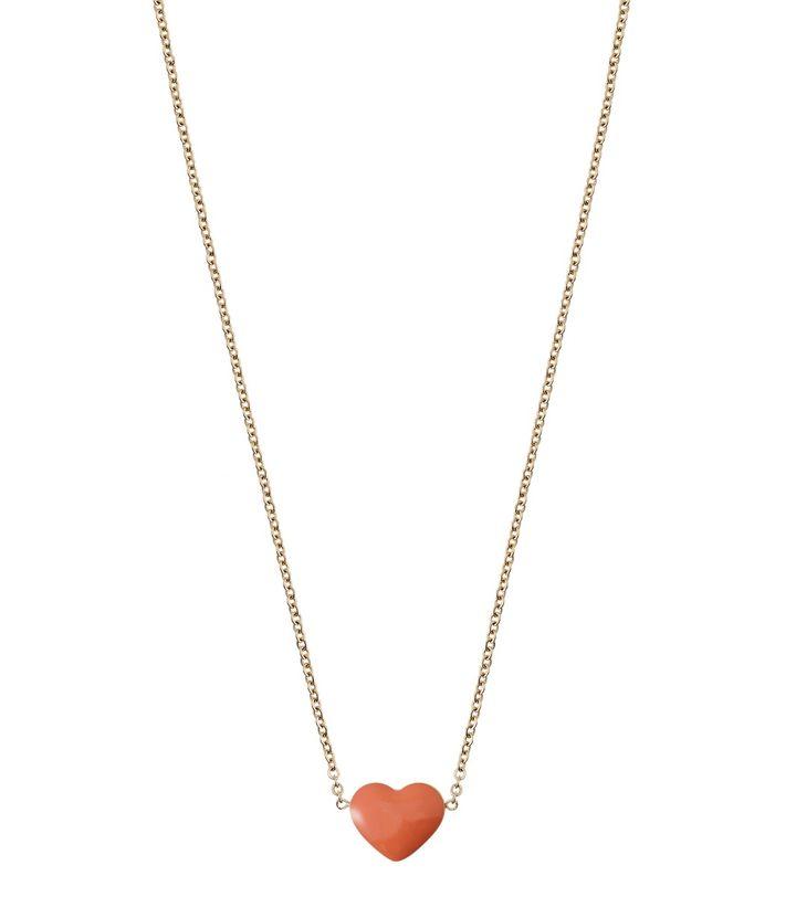 Venice Necklace Heart Gold