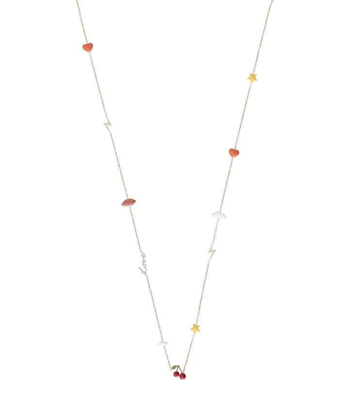 Venice Necklace Multi Gold