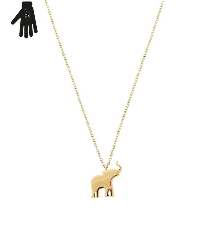 Vigor Necklace Child Gold