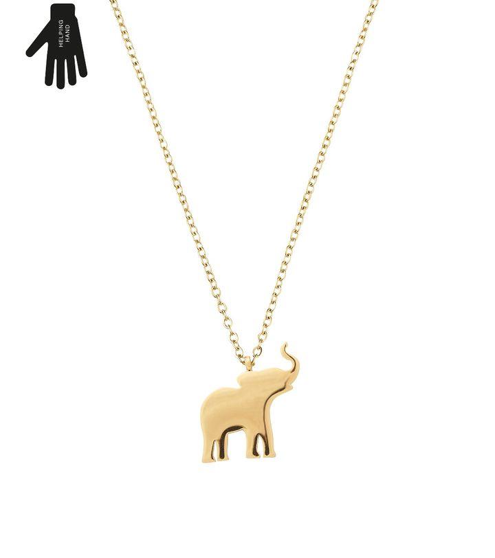 Vigor Necklace Gold