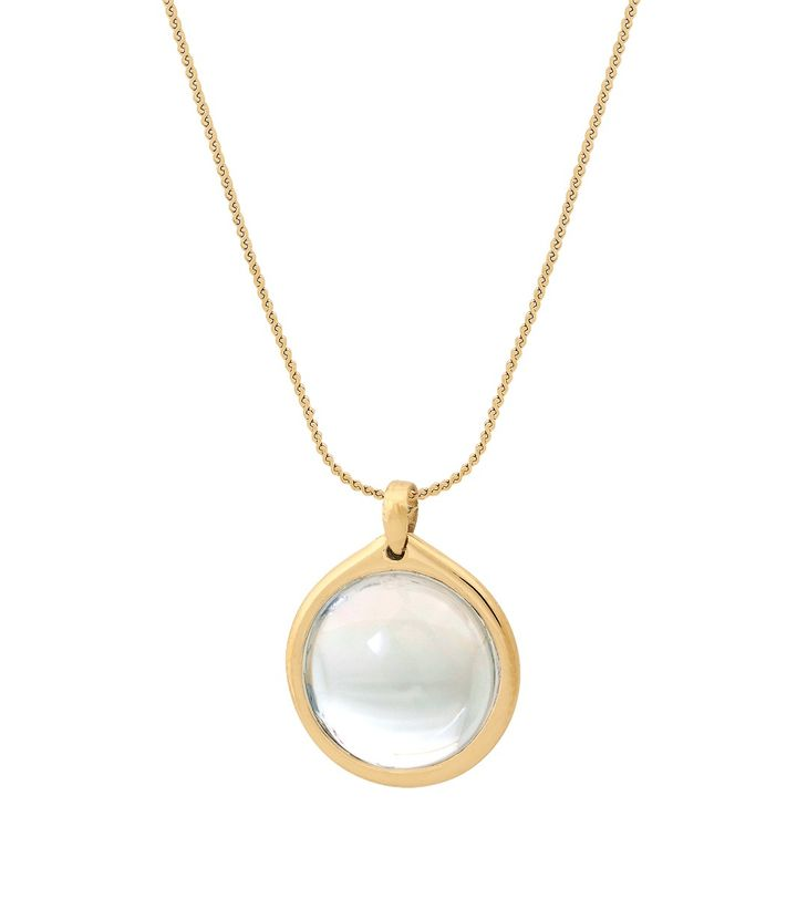 Visions Necklace L Gold