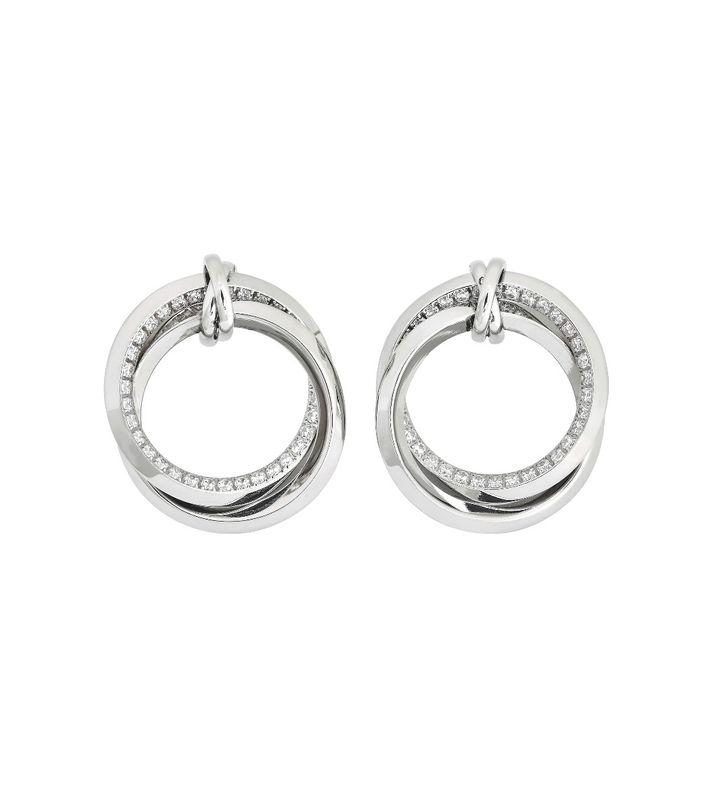 Zinnia Duo Earrings Steel