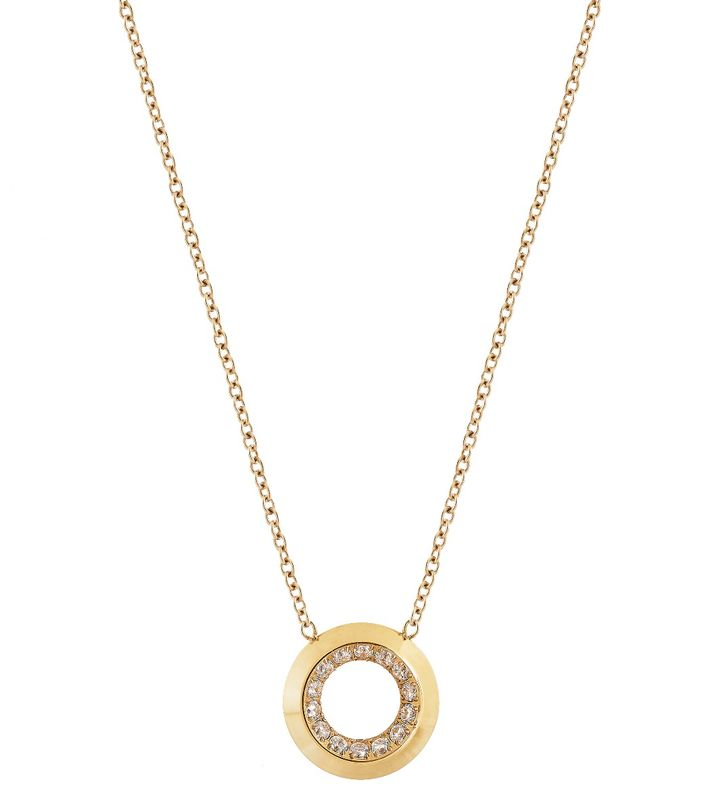 Zinnia Necklace Gold