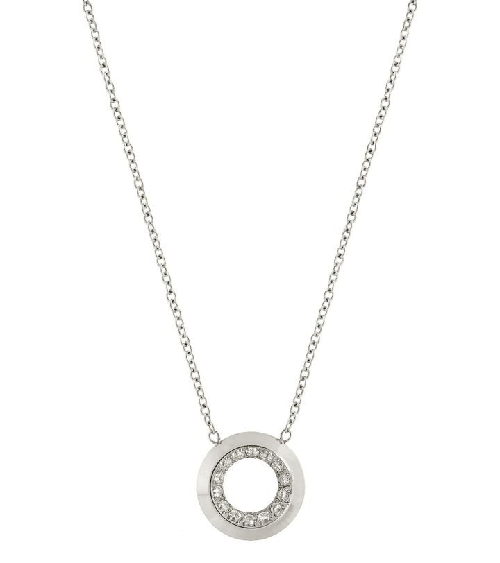 Zinnia Necklace Steel