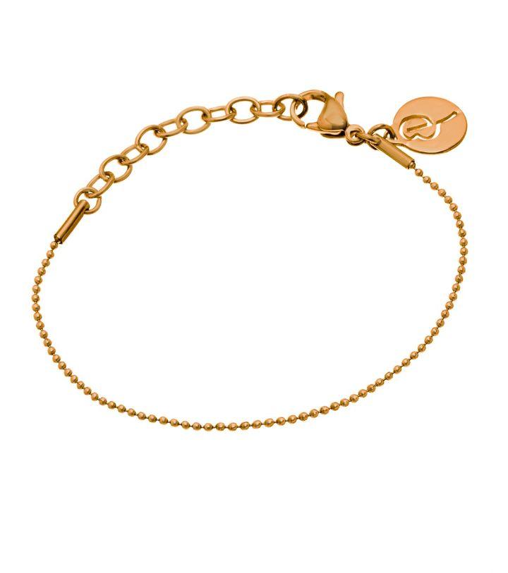 Charmentity Ballchain Bracelet Gold