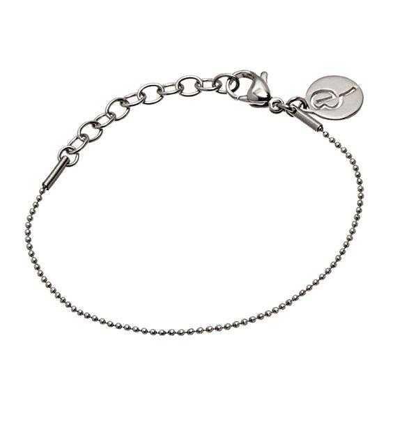 Charmentity Ballchain Bracelet Steel