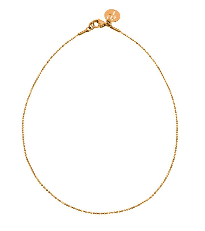 Charmentity Ballchain Medium 60 cm Gold