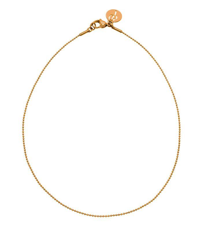 Charmentity Ballchain Long 80 cm Gold