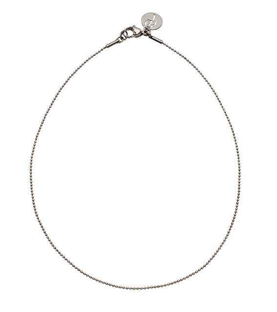 Charmentity Ballchain Medium 60 cm Steel