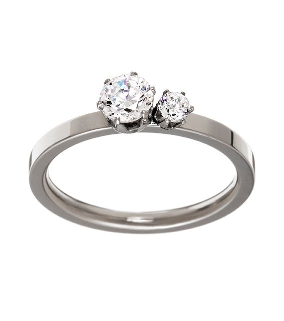 Crown Ring Double Steel