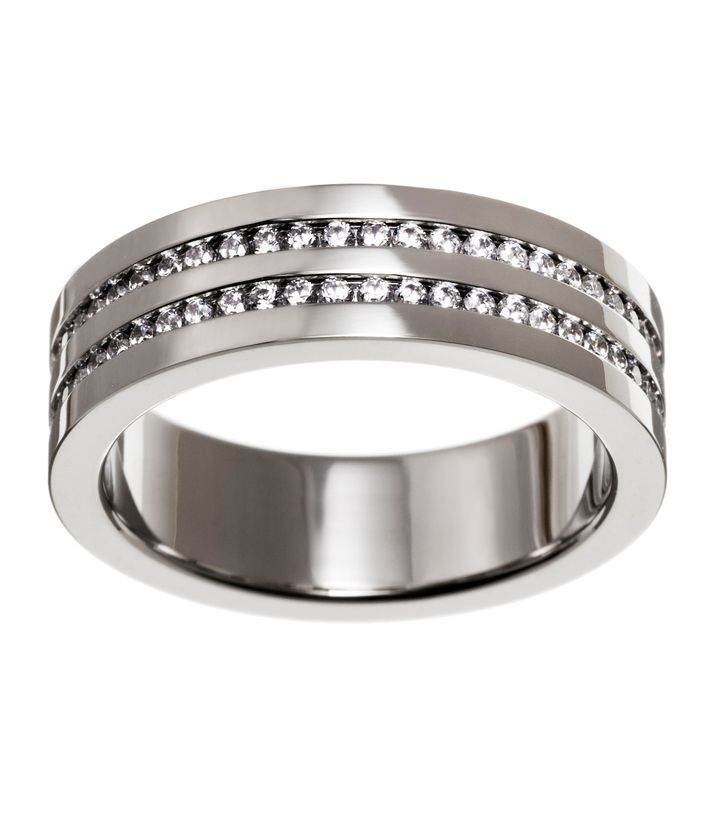 Josefin Ring Double Steel