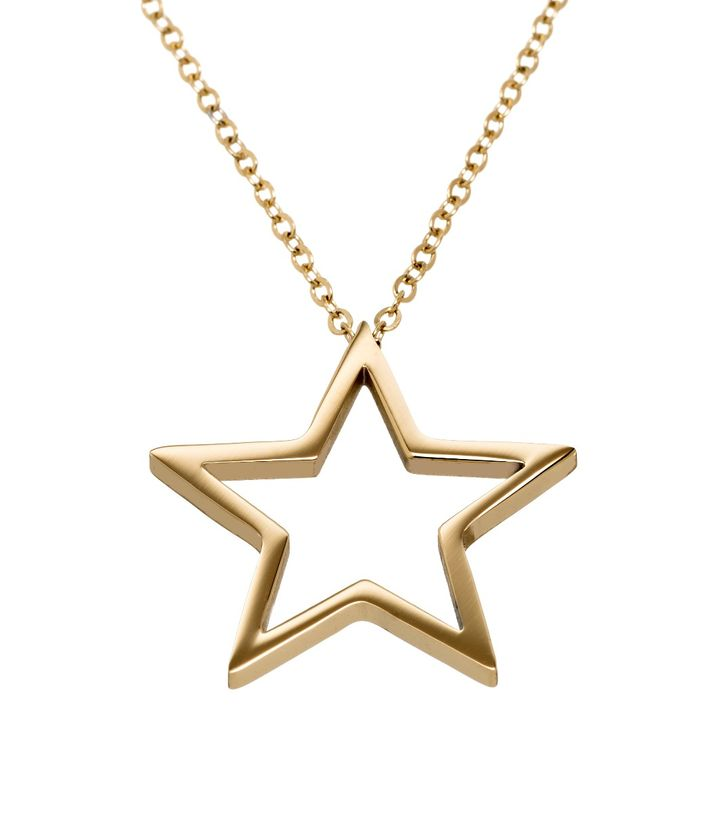 Nova Necklace Long Gold