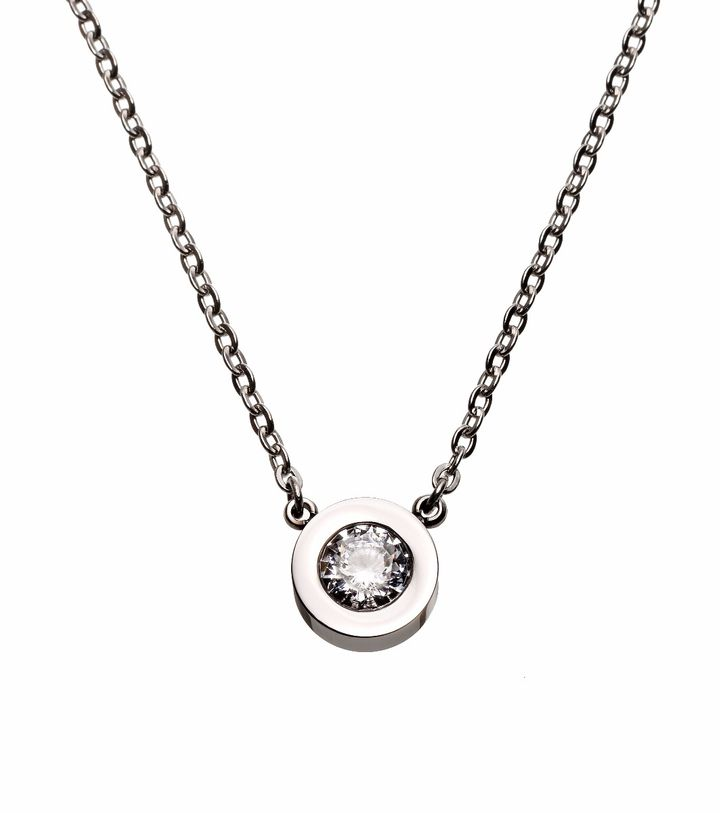 Stella Necklace Steel