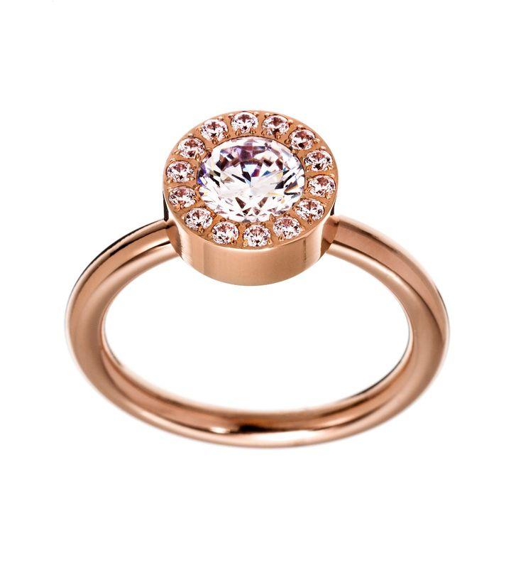 Thassos Ring Rose Gold
