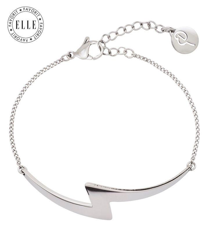 Lightning Bracelet Steel